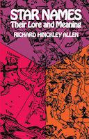 Book cover for Richard Allen, Star Names