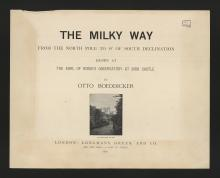 Boeddicker, The Milky Way (1892)